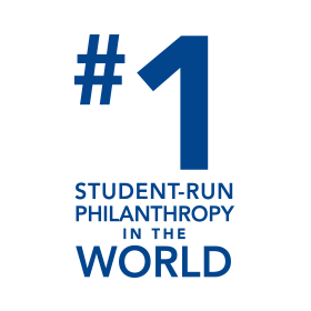 Number one student run philanthropy in the world