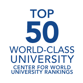 Top Fifty World Class University: Center for World University Rankings