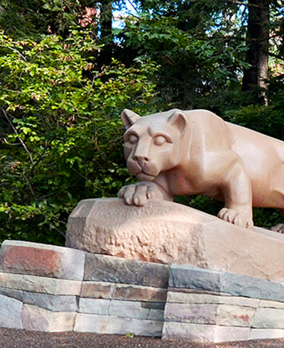 Penn State World Campus - Nittany Lion Shrine