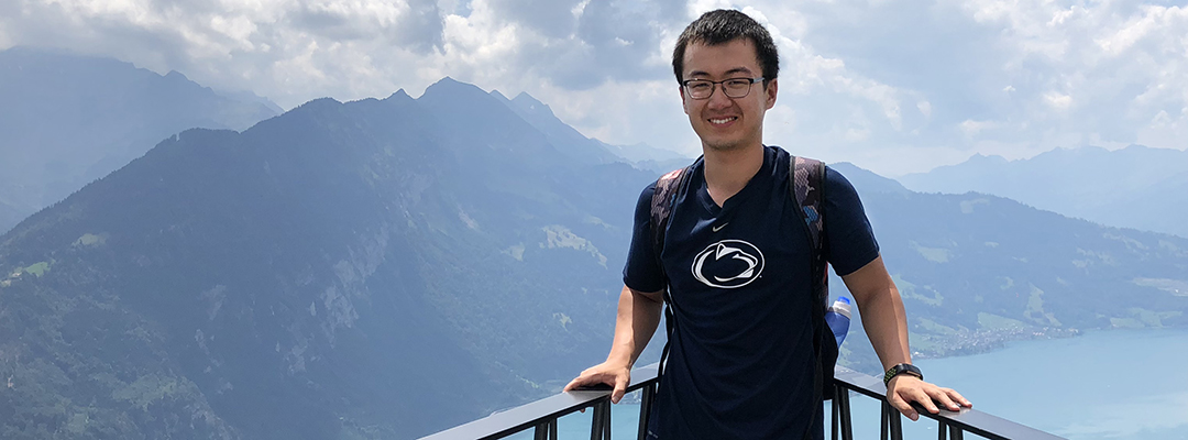 Penn State Student in Switerland